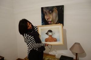 Liana Zanfrisco montre son art féministe à Stellest.