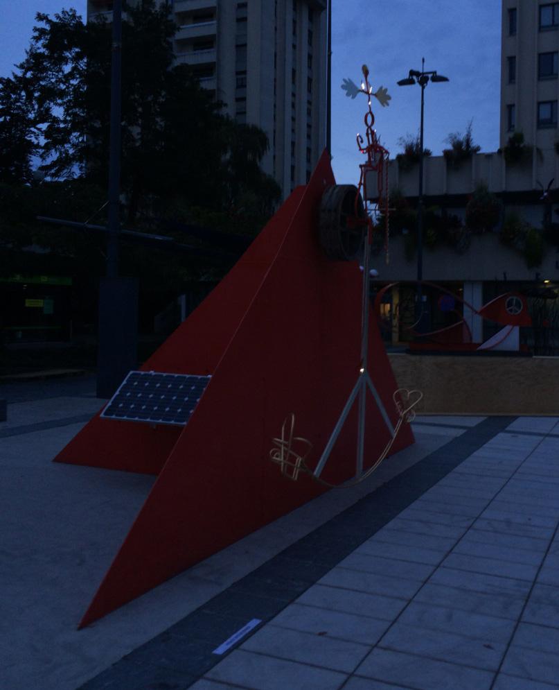 Intitulé : Solar Peace Rider, à 5H du matin.
